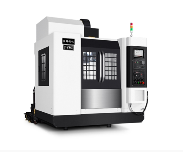 CNC精密机械加工—三线轨立式加工中心
