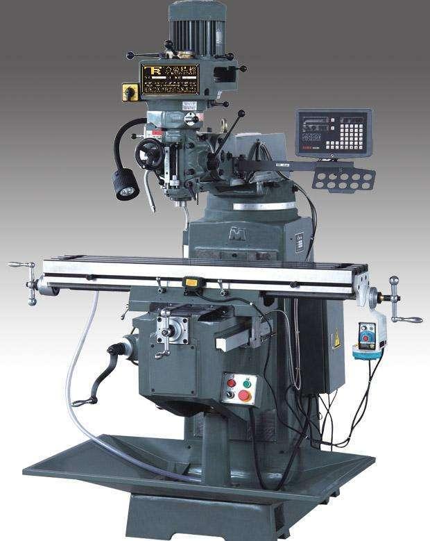 CNC精密機械加工——銑床加工設備